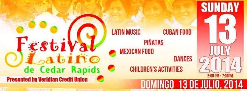2014 Latino Festival Ad